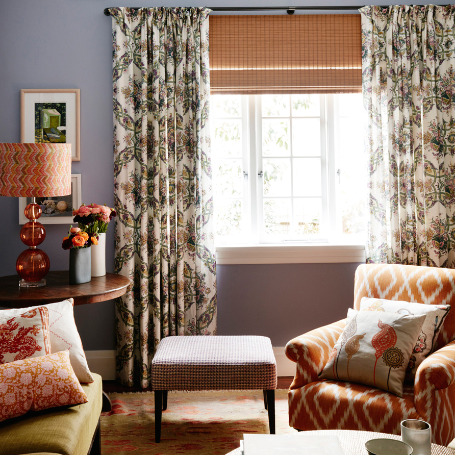 No Chintz Curtains
