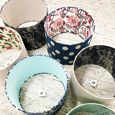 No Chintz Sewing Lampshade Workshops