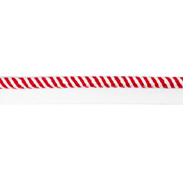 Flange Rope Red / White