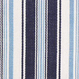 Deck Chair Stripe Denim Ivory