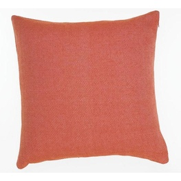 Hopsack Musk Flame Cushion Cover - 55cm