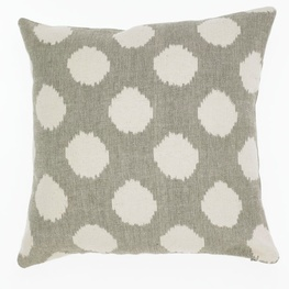Ikat Spot Clay Cushion Cover - 45cm