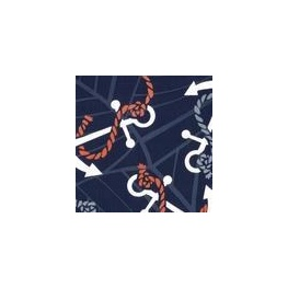 Anchors Away Navy Blue