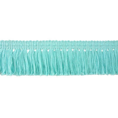 Fringe, Brush - Aqua