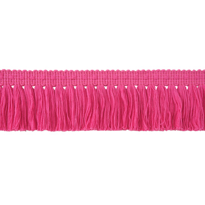 Fringe, Brush - Pink