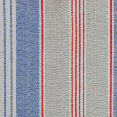 French Ticking Multi Blue