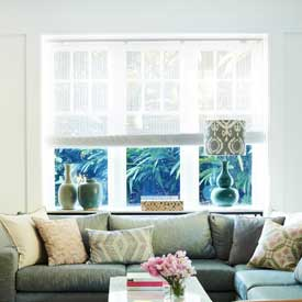 Custom Roman Blinds and Roller Blinds