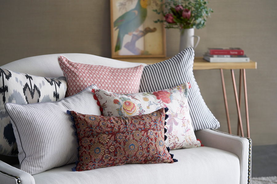 No Chintz Cushions - Custom Sizes Available