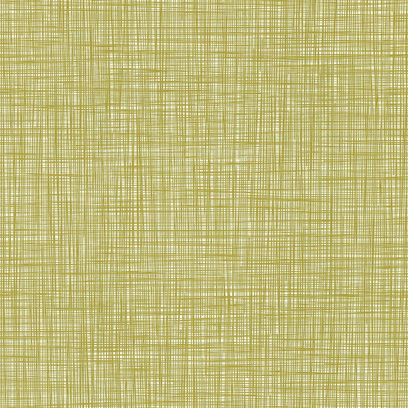 Orla Kiely Scribble Olive Fabric