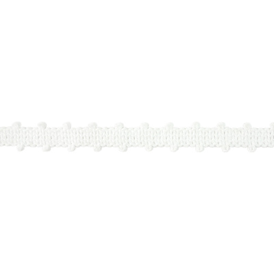 Braid, Picot 10mm - White