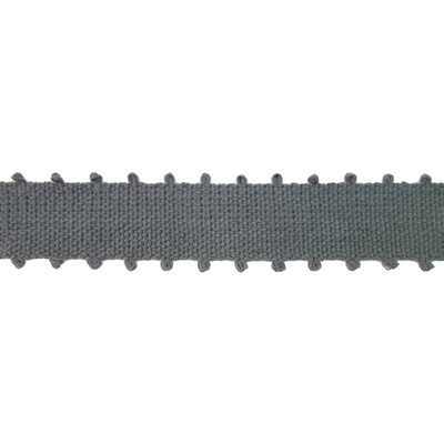 Braid, Picot 40mm - Charcoal