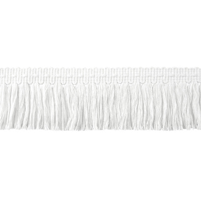 Fringe, Brush - White