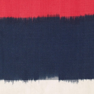 On The Horizon Ikat Fabric - Navy