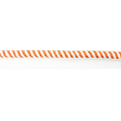 Rope, Flange - Orange / White