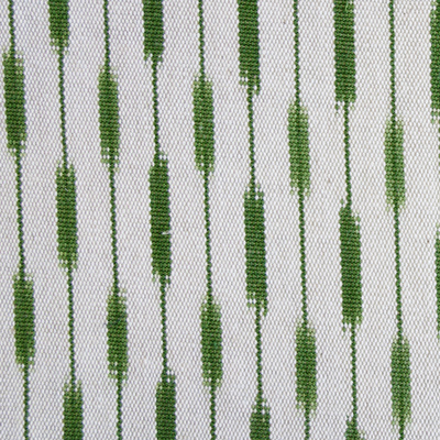 Lomandra Ikat Fabric - Forest
