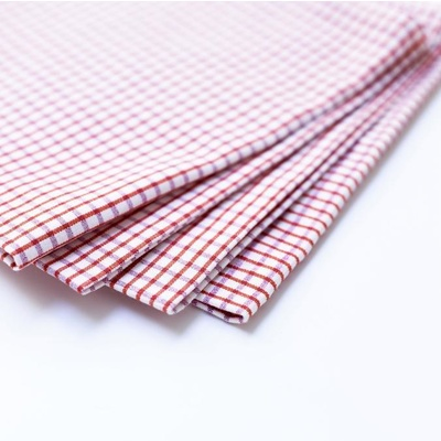 Binni Check Pink/Orange Napkins - Set of 6