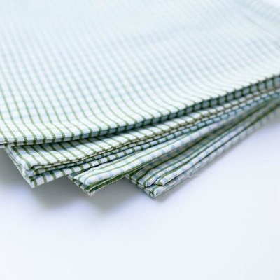 Binni Check Green/Aqua Napkins - Set of 6