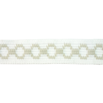 Braid, Link 50mm - White/Linen
