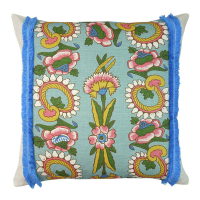 Kandilli Blue Cushion - 55cm