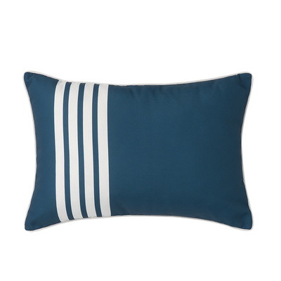 Capri Teal Outdoor Cushion - 35cm x 50cm