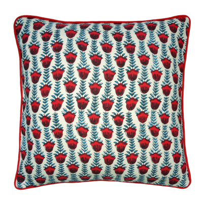 Tulipa Rouge Cushion Cover - 50cm