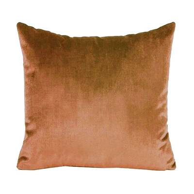Iosis Caramel Velvet Cushion Cover - 45cm