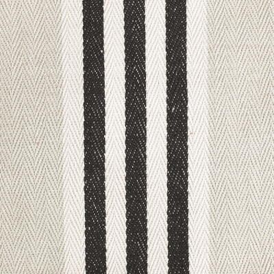 Sugarbag Stripe Taupe Black