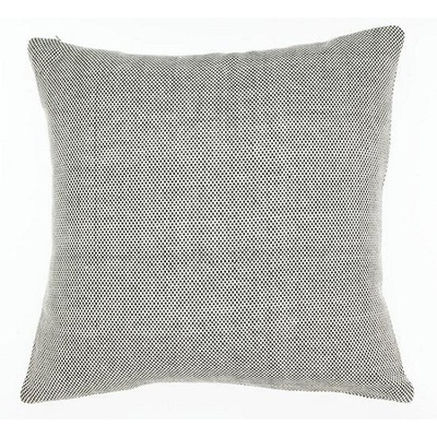 Hopsack Charcoal Cushion Cover - 55cm